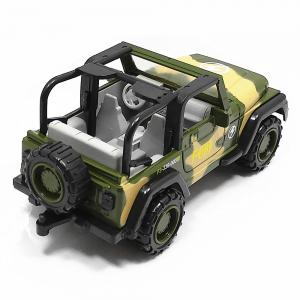 1:55 Zinc Alloy Military Toy Car for Children / Office Decoration - Camouflage -