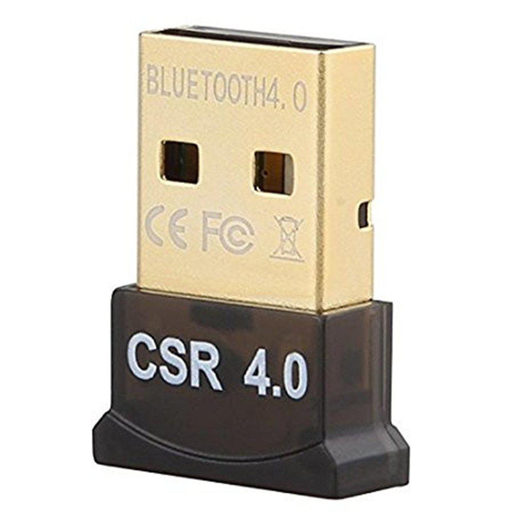 New Adapter Compatible with Windows 10/8.1/8/7/Vista/ XP/ 32/64 Bit for Desktop/Laptop/computers Bluetooth 4.0 USB