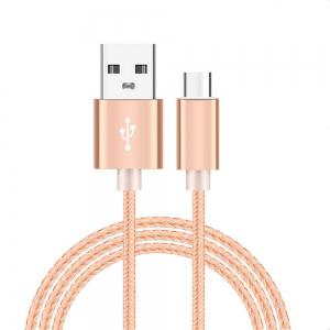 Type C Cable USB C Cable Nylon Braided Fast Charger Sync Cord for Samsung Galaxy Note 8 S8 LG V20 G5 G6 Pixel 2 Nexus 5 -