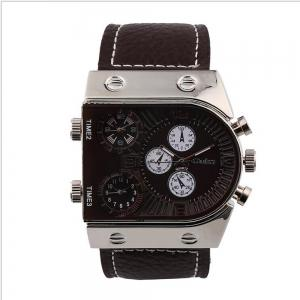 Custom Watches Three Time Zones As Men's Watch -