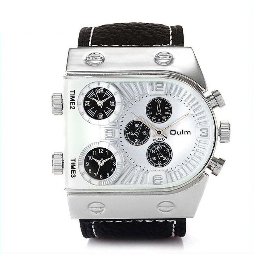 Cheap Custom Watches Three Time Zones As Men's Watch