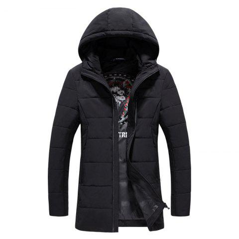 Buy 2018 Men's Fashion Trend Zipper Long Cotton Clothes