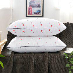 Vacuum Hotel Health Care Can be Washed Feather Pillow Core -