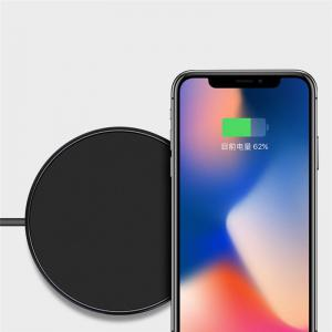 Ultra-thin Qi Wireless Charger  for iPhone X / 8 / 8 Plus / Samsung Galaxy S8 + / S8 / Note 8 -