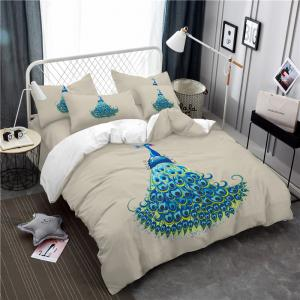 Embroidery Peacock Feathers Series Four Pieces of Bedding SK11 -