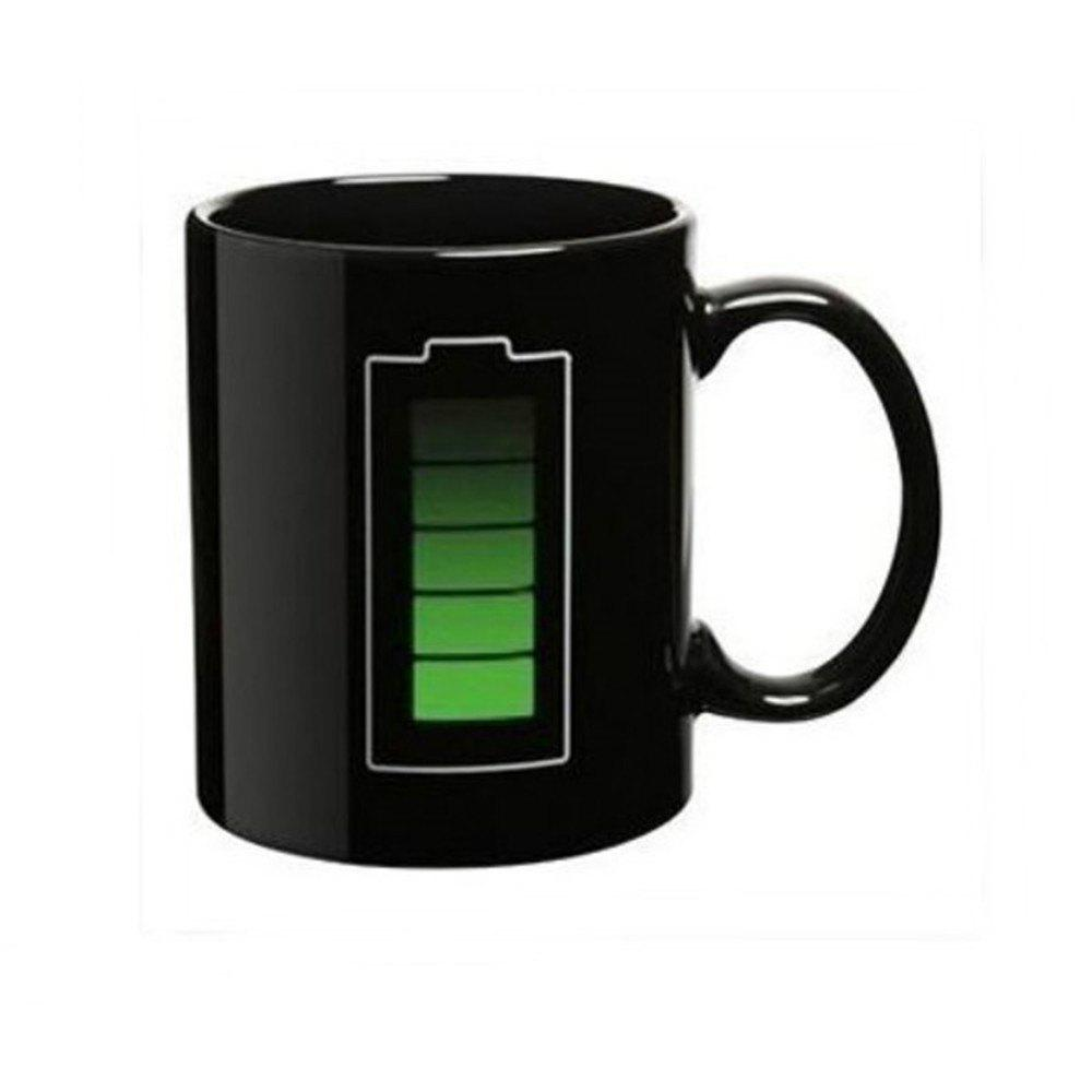 Shops Magic Mug Color Changing Cups Porcelain Battery Coffee Heat Hot Cold Temperature Sensitive Reactive Cup
