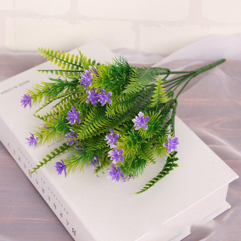 Outfit 4 Pcs Green Grass Plants Artificial Flower Babysbreath Simulation Flower Wedding Decoration for Home Party Office