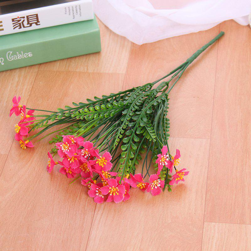 Latest 4 PCS Artificial Green Plants Grass Fake Floral Plastic Flowers For Office Hotel Home Wedding Table Decoration