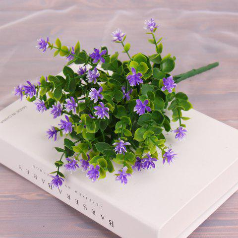 Discount 4 PCS Artificial Green Plants Grass Fake Floral Plastic Flowers For Office Home Wedding Table Decoration
