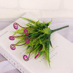 4 PCS Green Grass Plants Artificial Flower Simulation Flower Wedding Decoration -