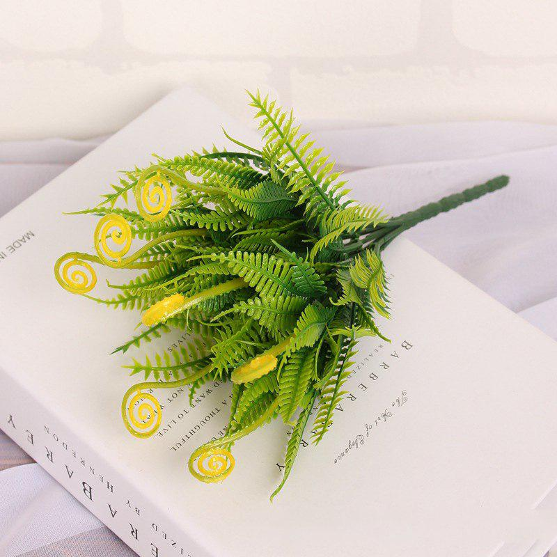 Online 4 PCS Green Grass Plants Artificial Flower Simulation Flower Wedding Decoration