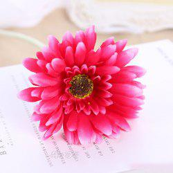 8 PCS Artificial Gerbera Daisy Heads Silk Flower Home Wedding Decor Bouquet Party Home Decoration -