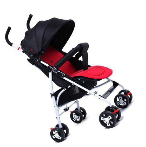 Online Ultra-Light Portable Can Sit Lying Shock-Absorbing Summer Umbrella Car Baby Stroller Four Wheeled Cart
