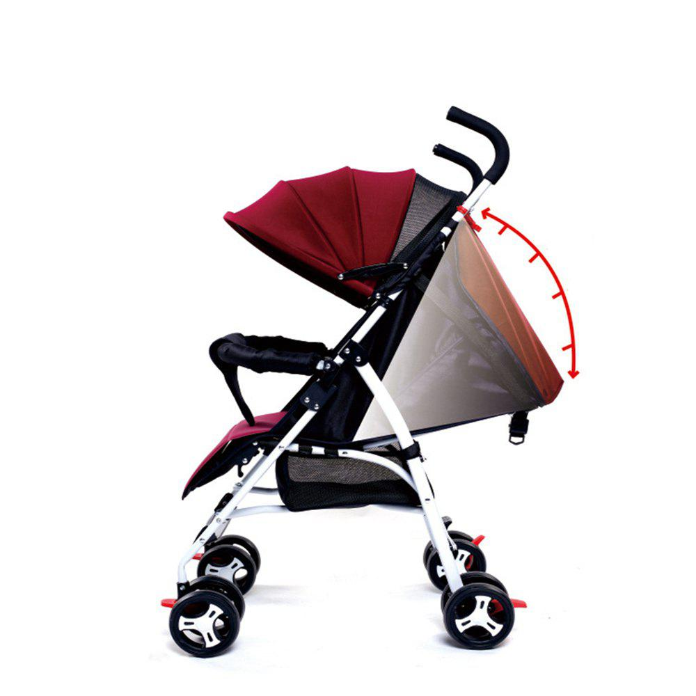 Outfit Ultra-Light Portable Can Sit Lying Shock-Absorbing Summer Umbrella Car Baby Stroller Four Wheeled Cart