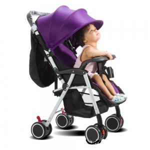 Strollers Can Be Placed Lying and Folding Four Seasons Available -