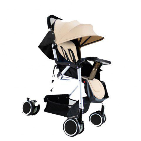 Latest Strollers Can Be Placed Lying and Folding Four Seasons Available