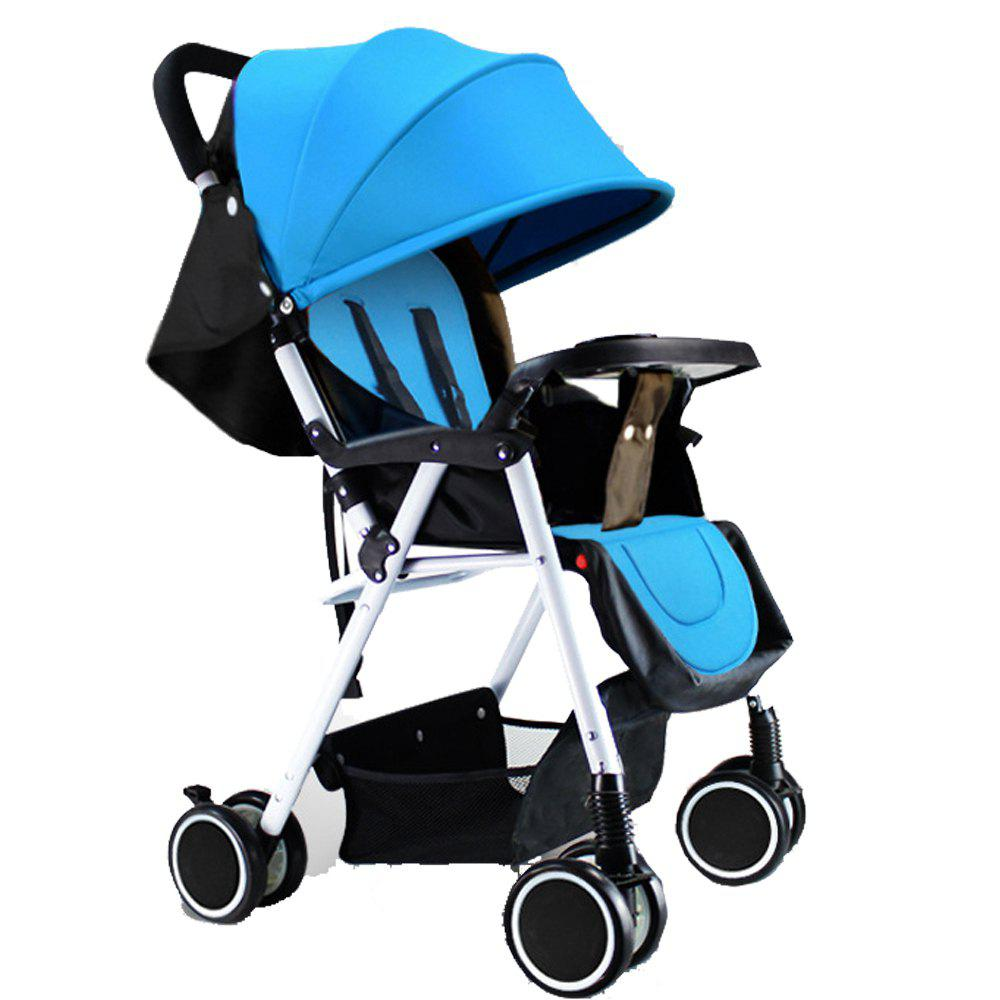 Unique Strollers Can Be Placed Lying and Folding Four Seasons Available