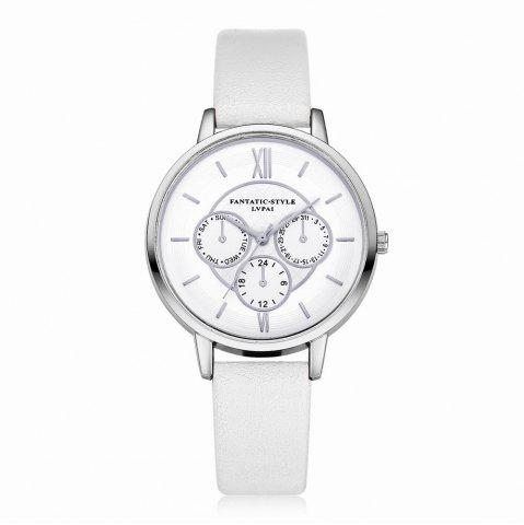 Shop Lvpai P090-S Women Fashion Leather Band Quartz Watches