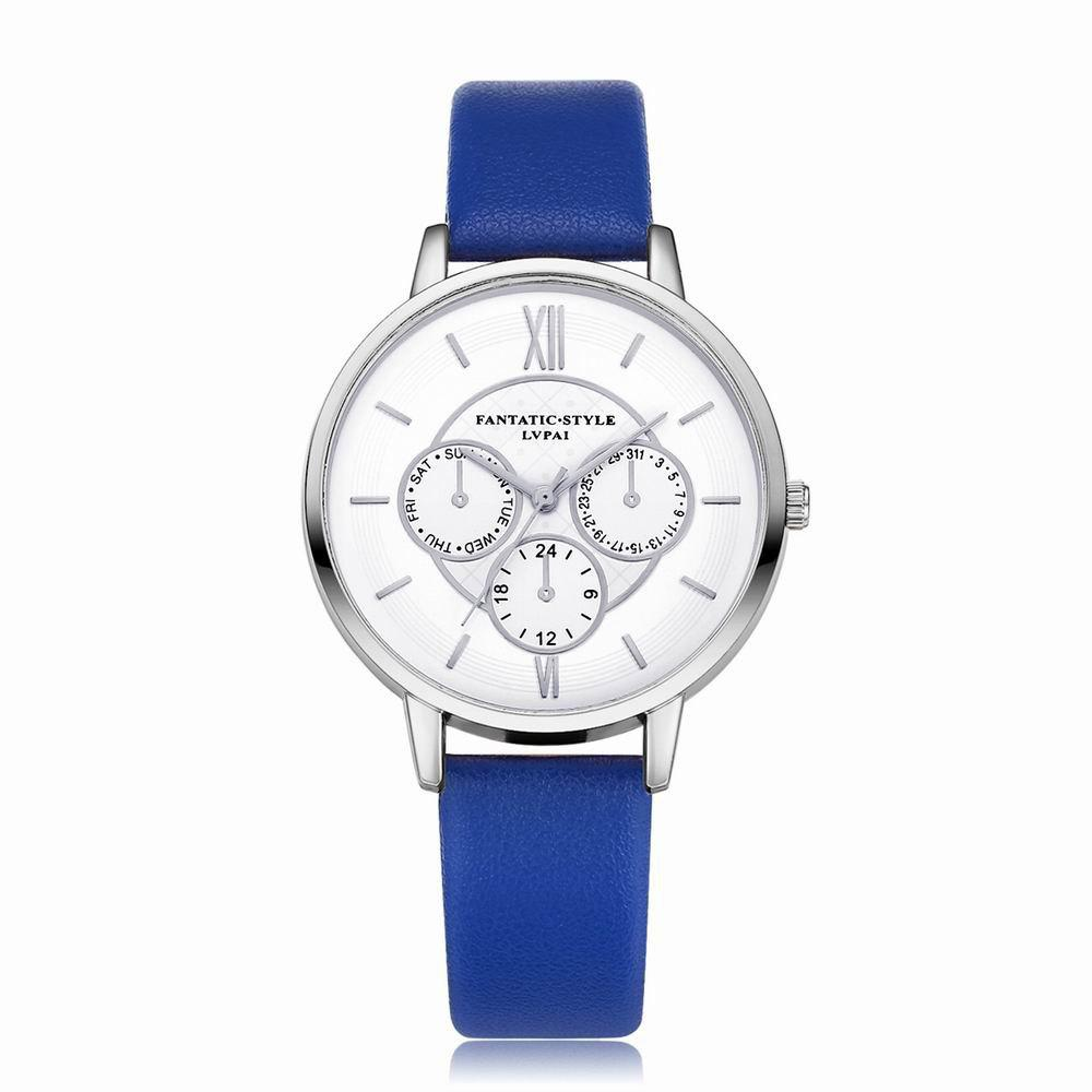 Outfits Lvpai P090-S Women Fashion Leather Band Quartz Watches