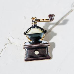 Vintage Women Brooch Coffee Mill Design Brooches Jewelry Gift Women -