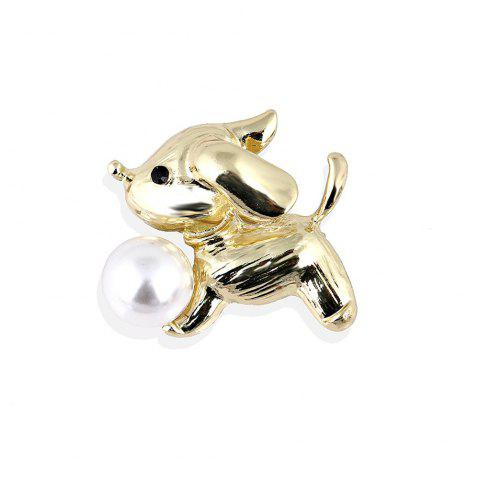 Chic Cute Little White Imitation Cat Brooch Pins Fashion Jewelry Bijoux Brooch Wholesale Women Accessories
