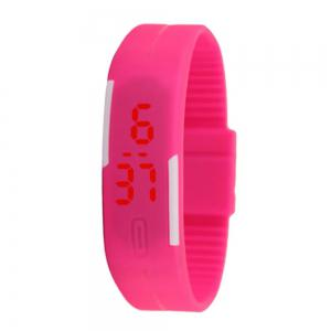 V5 New Fashion Candy Color LED Electronic Watch -