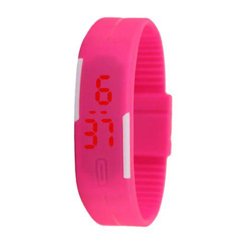 Fancy V5 New Fashion Candy Color LED Electronic Watch