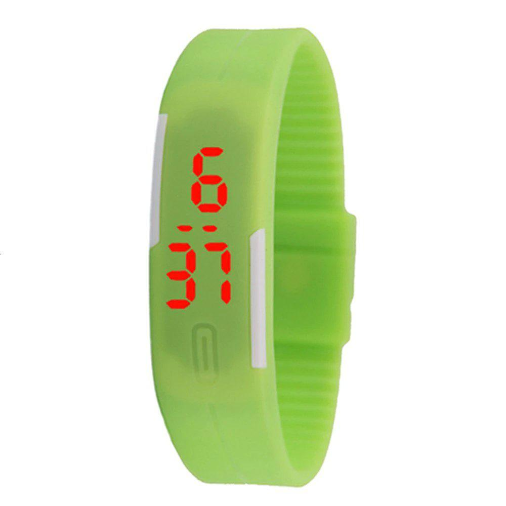 Shop V5 New Fashion Candy Color LED Electronic Watch