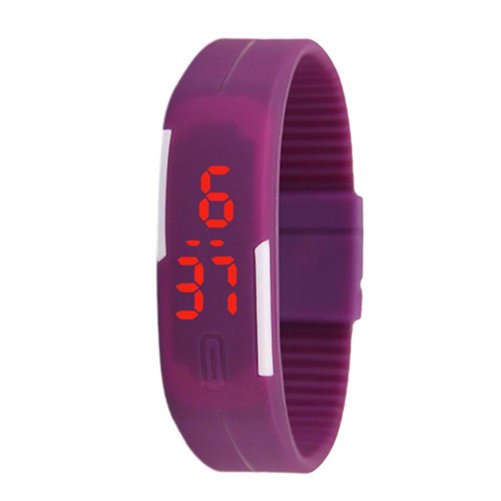 Cheap V5 New Fashion Candy Color LED Electronic Watch