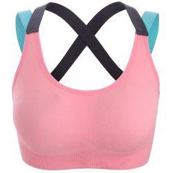 Shockproof Professional Sports Bra Running Fitness Yoga Speed Dry Breathable Bra -