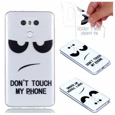 Store for LG G6 Eyes Painted Soft Clear TPU Phone Casing Mobile Smartphone Cover Shell Case