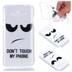 for Samsung J310 Eyes Painted Soft Clear TPU Phone Casing Mobile Smartphone Cover Shell Case -