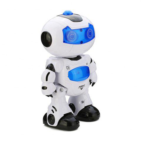 Online Electric Intelligent Cute Remote Controlled Musical Dancing Robot Walk Lightening Toy