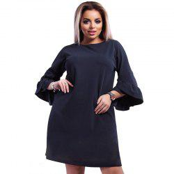 Daifansen Big Size Stitching Dress -
