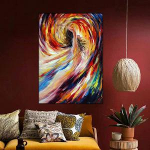 Hand Painted Abstract Figure Art Nude Girl Oil Painting Home Decoration -