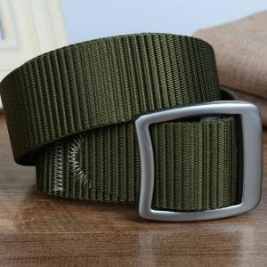 Quick Dry Nylon Weaving Elastic Waist Belt Breathable Outdoor Sport -