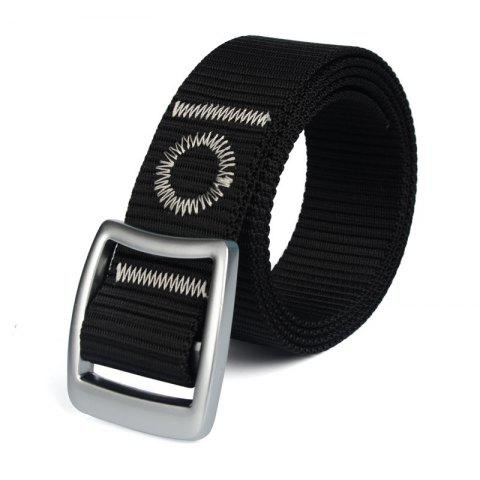Fashion Quick Dry Nylon Weaving Elastic Waist Belt Breathable Outdoor Sport