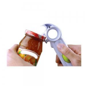 Universal Can Opener Jar Can Bottle Wine Kitchen Practical Multi Purpose All Size in One Tool -
