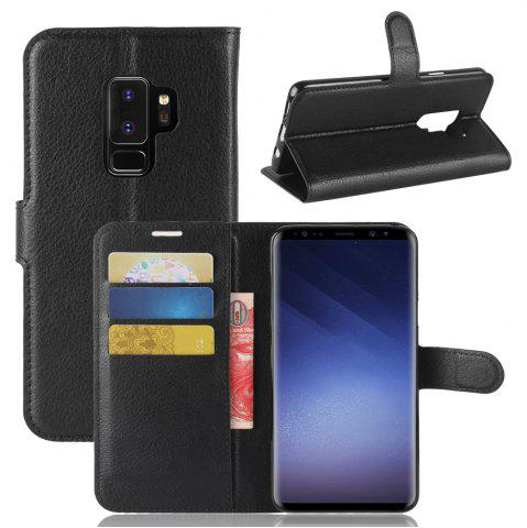 Discount Phone Cover PU Case Skin with Stand for Samsung Galaxy S9 Plus