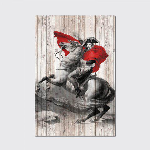 New QiaoJiaHuaYuan No Frame Canvas Living Room Sofa Background art Decapitation Hangs a Horse Riding Warrior