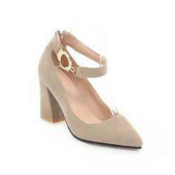 New Spring and Summer Fashion Classic All-Match Buckle Shoes -