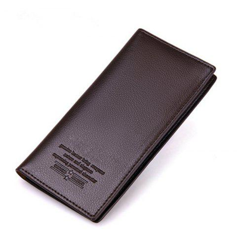 Buy Business Card Holder Pu Leather Men Wallets