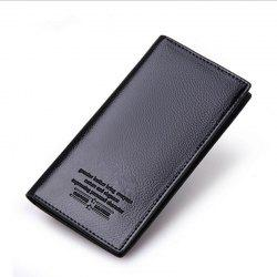 Business Card Holder Pu Leather Men Wallets -