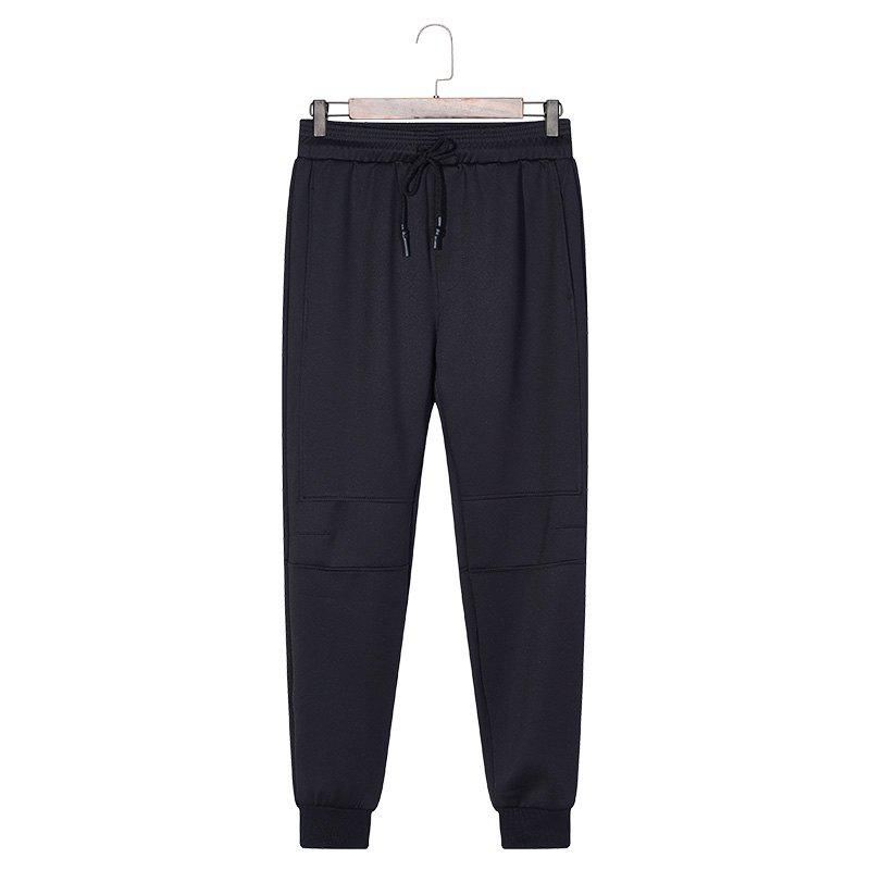 Sale Male Solid Color Beam Foot Sports and Leisure Pants