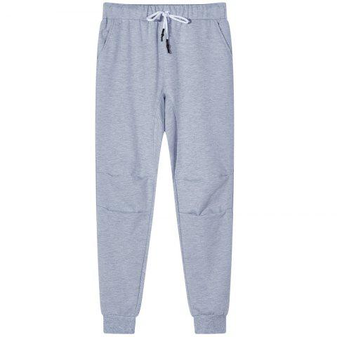 Chic Men's Knit Legging Sports and Leisure Pants