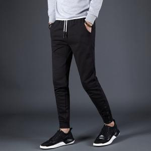 Men's Bust Button Sports and Leisure Pants -