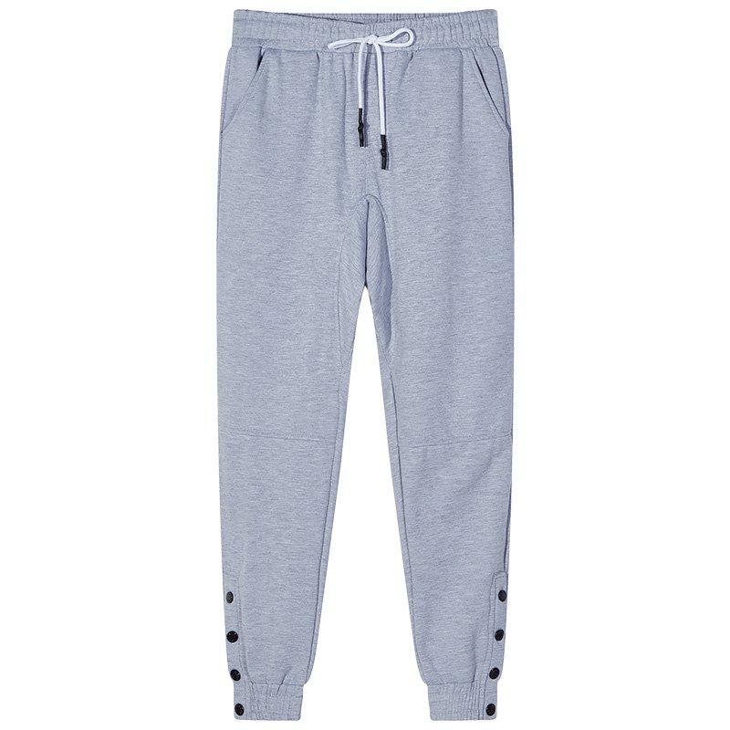 Unique Men's Bust Button Sports and Leisure Pants