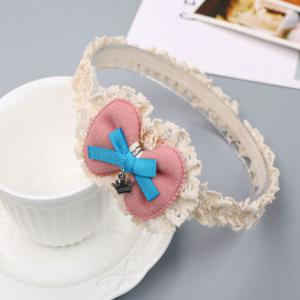 Korean Edition Bow-Tie Children Hair Band -