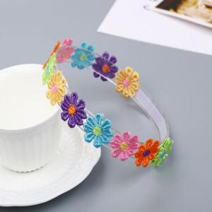 Colorful Petal Child Hair Band -