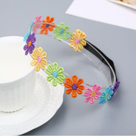 Unique Colorful Petal Child Hair Band